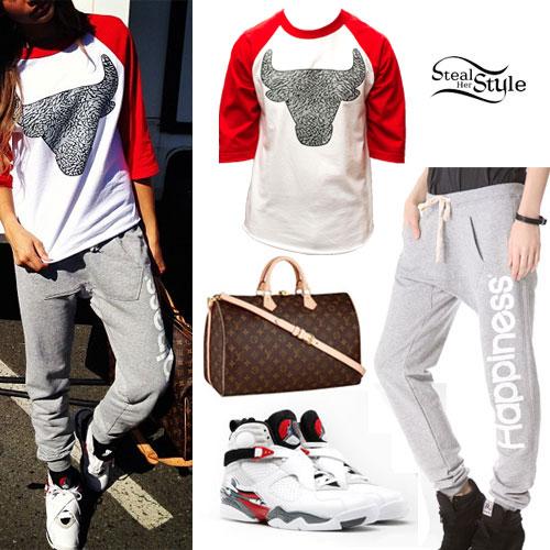 Zendaya: Happiness Sweatpants Outfit