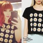 Carly Rae Jepsen: Daisy Cropped T-Shirt