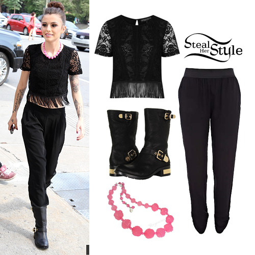 Cher Lloyd outside the Virgin Radio Studios in Montreal September 11th, 2013 - photo: cherlloyddaily.com