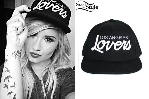 a2fa91667ed69 Demi Lovato  Los Angeles Lovers Snapback
