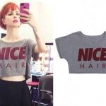 Hayley Williams: Nice Hair Cropped Tee