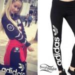 Iggy Azalea: Adidas Leggings