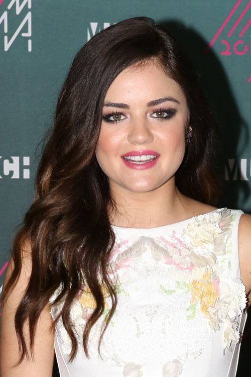 Lucy Hale Hair Color 2013