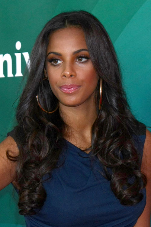 rochelle humes wavy dark brown hairstyle steal her style