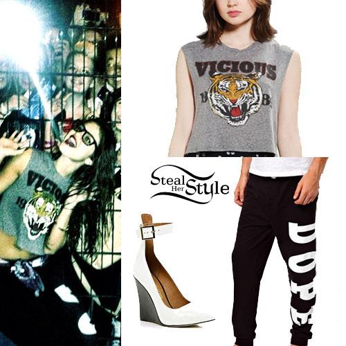 Selena Gomez Dope Sweatpants | Steal Her Style