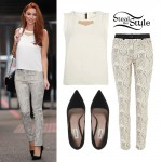 Una Healy at the ITV Studios in London September 11th, 2013 - photo: thesaturdayscentral.org