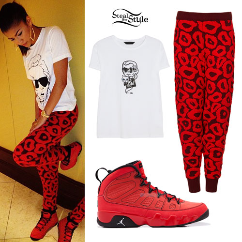 outfits with red jordans