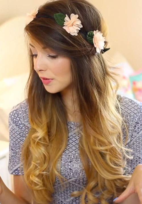 zoella-hair-flower-crown
