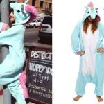 Ariana Grande: Blue Unicorn Onesie