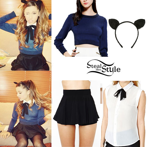 Ariana Grande's Clothes & Outfits | Steal Her Style | Page 21