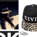 Becky G: Civil Leopard Hat