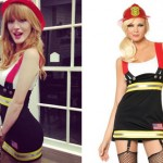 Bella Thorne: Firefighter Halloween Costume