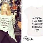 Bridgit Mendler: Don't Look Back T-Shirt