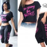 Diamond: 'Be Young Be Reckless' Tee & Sweats