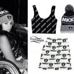 Jasmine Villegas: Mickey Raiders Beanie & Skirt