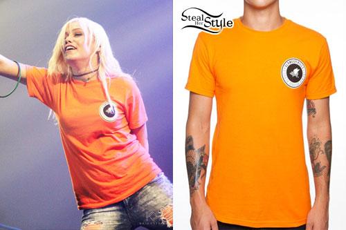 Jenna McDougall: Orange T-Shirt