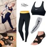 Jessie J: Nike Workout Outfit