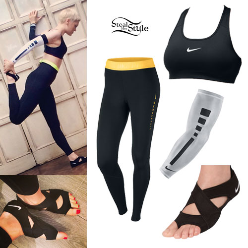 740ed31fe3 Jessie J  Nike Sports Bra   Workout Leggings