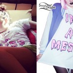 "Kreayshawn: ""I'm A Mess"" Drip T-Shirt"