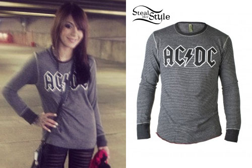 Lexus Amanda: AC/DC Long Sleeve Top