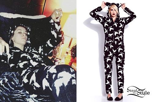 Lexus Amanda: Bat Onesie Pajamas