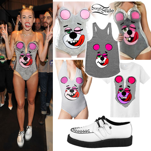 Miley Cyrus: VMA Twerk Bear Halloween Costumes