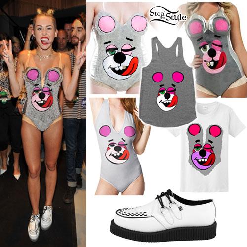 Miley Cyrus Vma 2013 Bear