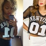 Zonnique Pullins: New York 01 Crop Jersey