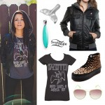 Tay Jardine: Bomber Jacket Outfit