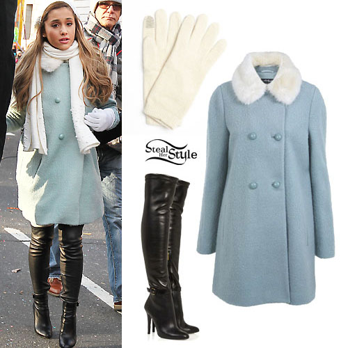 pea coat leather uggs