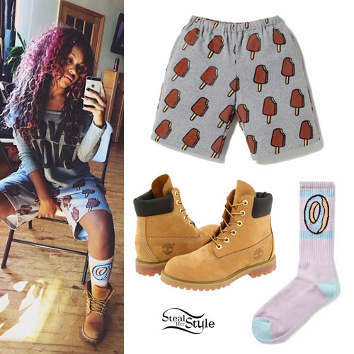 Bahja Rodriguez: Popsicle Shorts, Donut Socks