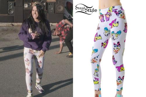 Becky G: Disney Print Leggings