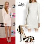 Brandi Cyrus: 2013 AMAs Outfit