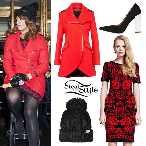 Dinah Jane Hansen: Baroque Dress, Red Coat
