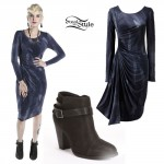 Juliet Simms: Tie Dye Midi Dress