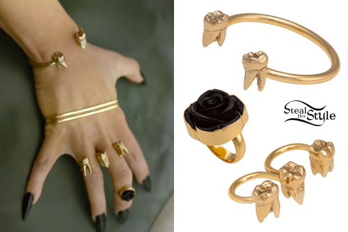 Kesha: Timber Music Video Jewelry