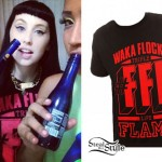 Kreayshawn: Waka Flocka Flame T-Shirt