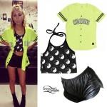 Lil Debbie: Neon Jersey, Yin Yang Halter