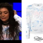 Lorde: Cloud Print Sweater
