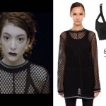 Lorde: Tennis Court Music Video Outfit