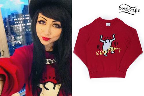 3e60b3e83153 Melissa Marie Green  Keith Haring Sweater