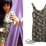 Melissa Marie Green: Pineapple Print Dress