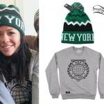 Tay Jardine: New York Beanie, Globe Sweatshirt