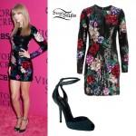 Taylor Swift: Sequin Floral Dress