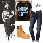 Willow Smith: Feminist Tee, Timberland Boots