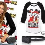 Zendaya: Mickey Raglan, Pouch Belt