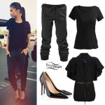 Zendaya: Short Sleeve Jacket, Drawstring Pants