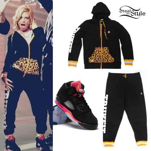 Chanel West Coast: Leopard Hoodie, Trukfit Sweats