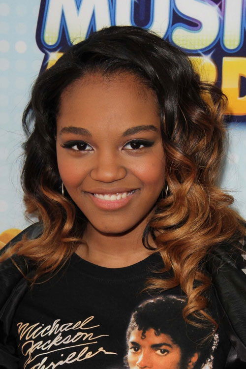 China Anne Mcclain Curly Black Ombr 233 Hairstyle Steal Her