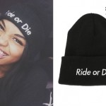 China McClain: Ride or Die Beanie